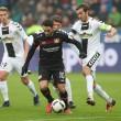 Bundesliga - Il Bayer sbatte su Schwolow, 1-1 alla BayArena