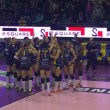 Volley, A1 femminile - L'Imoco Volley vince il derby con Vicenza