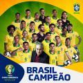 La Copa America è del Brasile: battuto il Perù 3-1