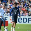 Nueve mil personas apoyan a la selección francesa