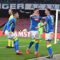 Europa League - Il Napoli schianta il Salisburgo: 3-0 al San Paolo