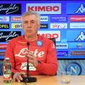 """Napoli, parla Ancelotti: """"Insigne non è assolutamente a rischio per la sfida con l'Arsenal"""""""