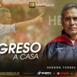 Hernán Torres fue nombrado como nuevo técnico de Rionegro Águilas para el 2018
