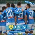 Serie A - Il Chievo è in B: il Napoli vince 1-3 e si prepara per l'Arsenal