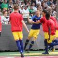RB Leipzig vence M'gladbach e coloca uma mão na vaga para a Champions League