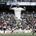 Comhat-trick de Benzema, Real Madrid derrotaAthletic Bilbao pelo Campeonato Espanhol
