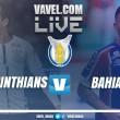Jogo Corinthians x Bahia AO VIVO hoje no Campeonato Brasileiro 2017 (0-0)