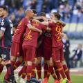 Serie A - La Roma cala il tris: battuto 3-0 un Cagliari troppo arrendevole