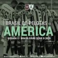 Brasil de Pelotas e América-MG duelam em busca da primeira vitória pela Série B