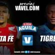 Santa Fe vs. Tigres: La perfección en puntos ante el alejamiento del descenso
