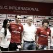 Leandro Damião exalta torcida e relembra passagem no Inter em sua apresentação