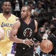 Chris Paul brilha mais uma vez e comanda vitória dos Clippers sobre Lakers