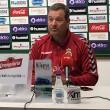 """Ángel Viadero: """"Tenemos un buen resultado pero quedan 90 minutos"""""""