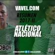 Resumen Atlético Nacional 2017-II: Dayro Moreno, la carta de gol en Atlético Nacional