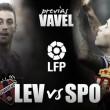 Levante - Sporting: dura batalla por la permanencia