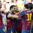 Debut en el Camp Nou, goleada segura