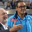 """Napoli, De Laurentiis: """"Incantato dal gol di Mertens. Lo scudetto..."""""""