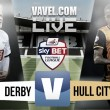 Derby choke again as Hull take big step to Wembley with 3-0 win