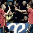 Empate entre Alemania y España