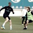 Ramos y Bale vuelven a los entrenamientos