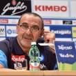 """Napoli, parla Sarri: """"Scudetto? Non ci casco"""""""