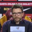 """Roma - Di Francesco: """"Sassuolo veramente in salute, Alisson non ci sarà"""""""
