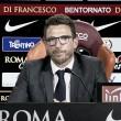"""Roma, Di Francesco prima del Benevento: """"Nainggolan e Schick non ci saranno"""""""