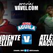 Previa DIM Vs Atlético Nacional: El 'clásico paisa' que calientan los cuartos de final