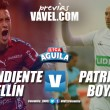 Previa Medellín vs Patriotas: a buscar la zona alta de la tabla