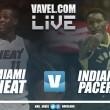 Miami Heat vs Indiana Pacers en vivo y en directo online en NBA 2017