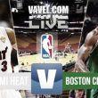 Resultado Miami Heat vs Boston Celtics (90-100)