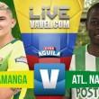 Atlético Bucaramanga vs Atlético Nacional: intenso duelo sin goles entre 'leopardos' y 'verdolagas'