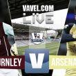 Resultado Burnley vs Arsenal 2015 (0-1)