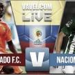 Resultado final: Envigado vs. Nacional (0-0)