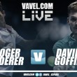 Partido Roger Federer vs David Goffin en vivo y en directo online en ATP Finals 2017