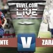 Primera derrota del Real Zaragoza esta temporada