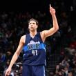 NBA - I Dallas Mavericks escono dal contratto di Dirk Nowitzki