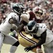 En juego de errores, Philadelphia le da un flechazo a los Redskins