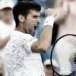 Novak Djokovic es el primer finalista de Cincinnati