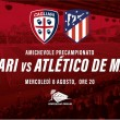 Cagliari, si attende l'Atletico Madrid