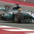 F1, Gp degli USA - Hamilton fa il vuoto nelle FP1