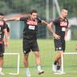 Napoli: ripresa degli allenamenti in vista del Torino. Ancelotti pensa a qualche cambio