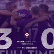 Serie A- La Fiorentina batte la Spal e vola seconda in classifica