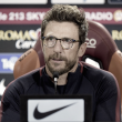 "Roma - Di Francesco in conferenza: ""Tolgo il derby dalla classifica, è una partita diversa dalle altre"""
