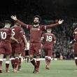 Salah sigue dando alegrías al Liverpool