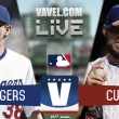 Score Los Angeles Dodgers 2-0 Chicago Cubs in 2017 MLB