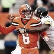 Pittsburgh y su defensiva le dieron el triunfo ante los Cleveland