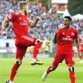 SV Darmstadt 98 1-2 Hamburger SV: Red Shorts back to winning ways despite late scare