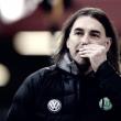 """Técnico Martin Schmidt lamenta revés do Wolfsburg no fim: """"Faltou muito pouco para ganhar"""""""