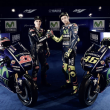 In the blue corner... the new Yamaha team and machinery